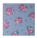 Ceramic Wall Tiles Made With Cath Kidston Victoria Rose Grey